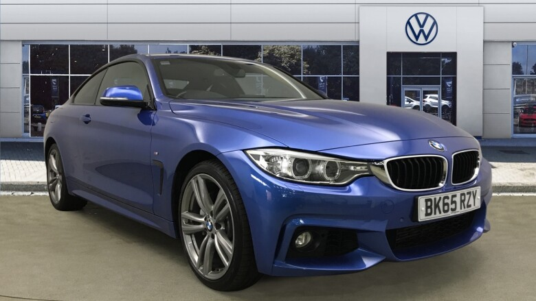 BMW 4 Series 435D Xdrive M Sport 2Dr Auto [professional Media] Diesel Coupe