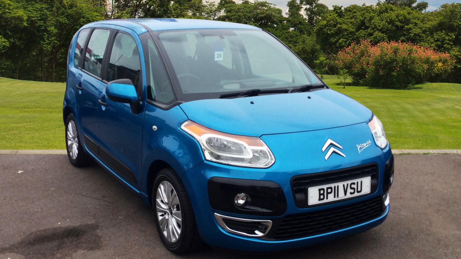 used citroen c3 picasso 1 6 hdi 8v vtr 5dr diesel estate. Black Bedroom Furniture Sets. Home Design Ideas