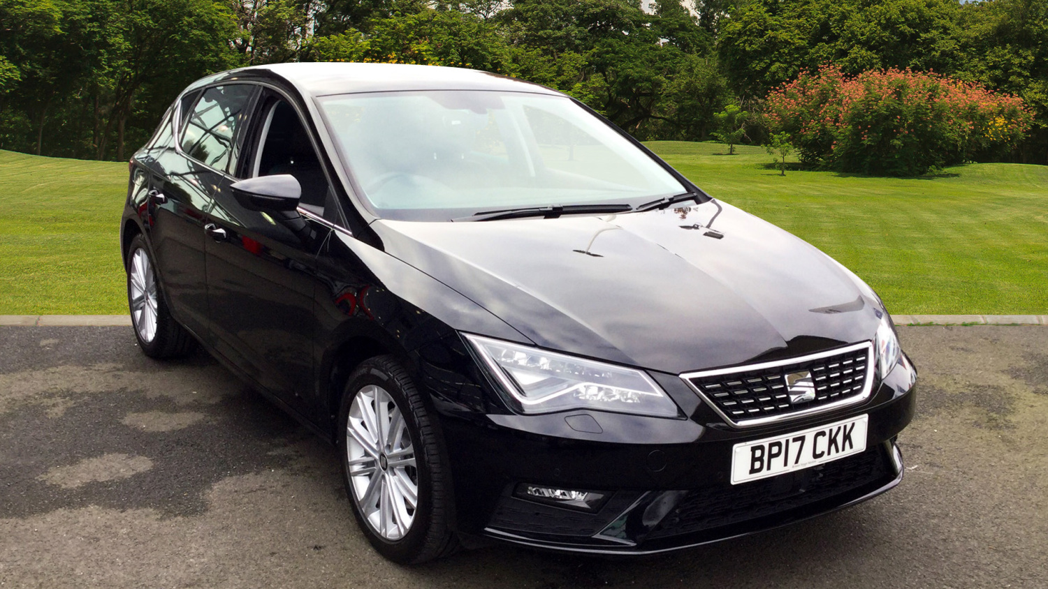 used seat leon 2 0 tdi 184 xcellence technology 5dr leather diesel hatchback for sale in. Black Bedroom Furniture Sets. Home Design Ideas
