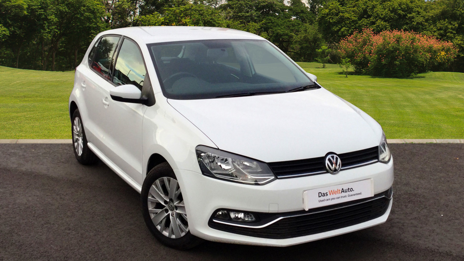 used volkswagen polo 1 2 tsi se 5dr petrol hatchback for sale in scotland macklin motors. Black Bedroom Furniture Sets. Home Design Ideas