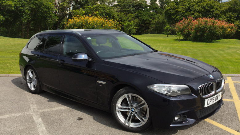 BMW 5 Series 520d [190] M Sport 5dr Step Auto Diesel Estate