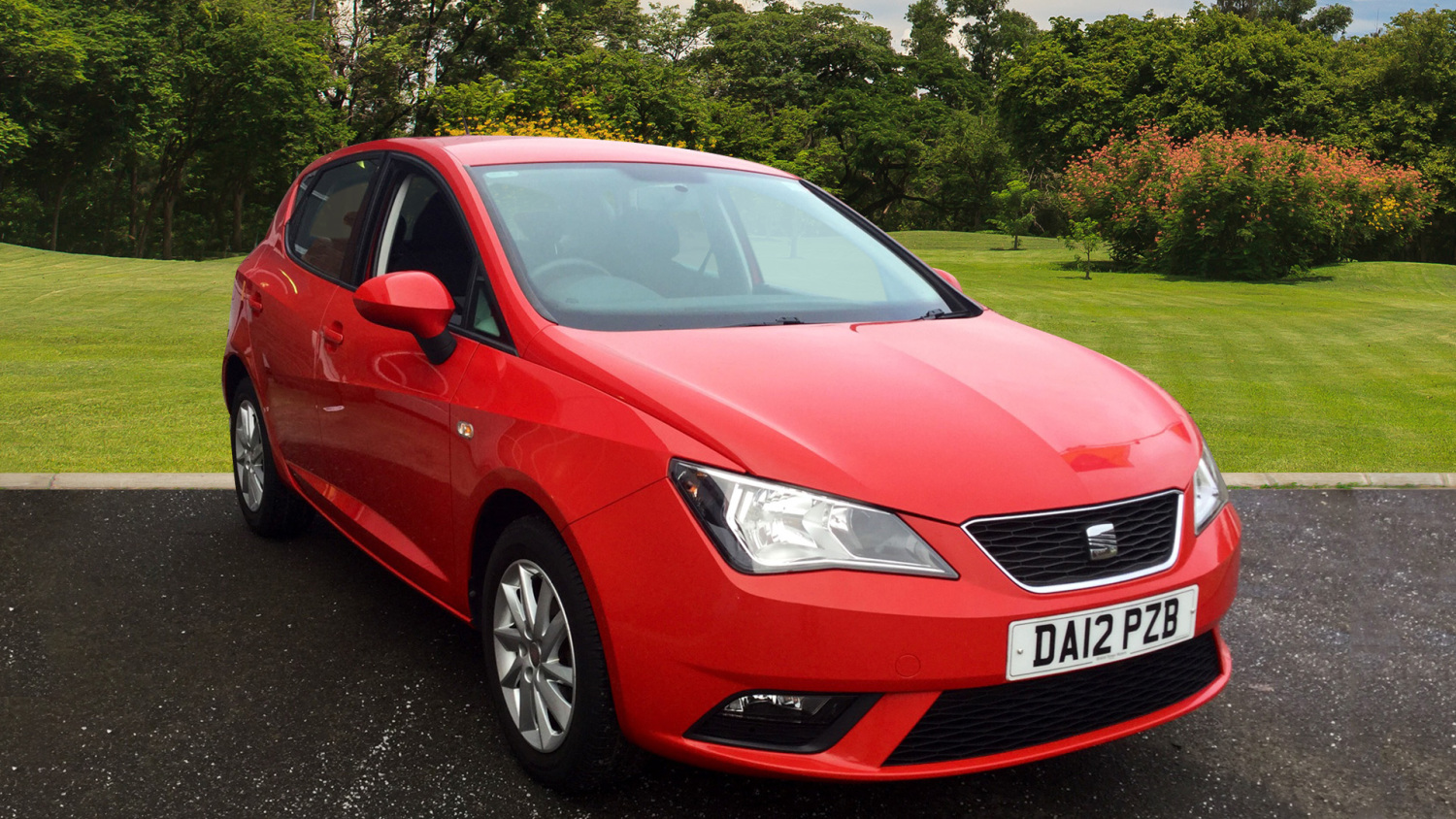 used seat ibiza 1 4 se 5dr petrol hatchback for sale in. Black Bedroom Furniture Sets. Home Design Ideas
