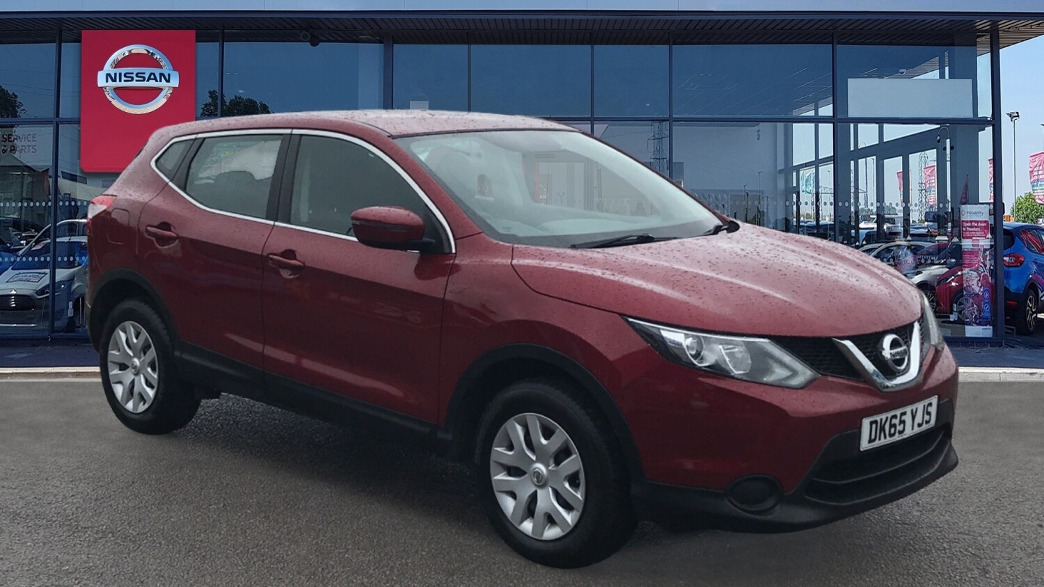 used nissan qashqai 1 2 dig t visia 5dr petrol hatchback. Black Bedroom Furniture Sets. Home Design Ideas