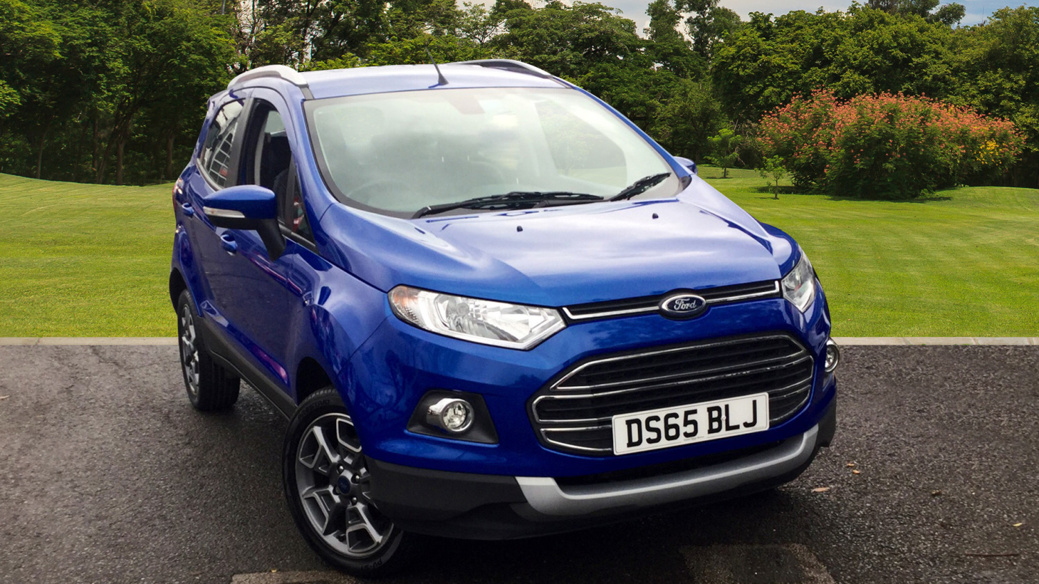used ford ecosport 1 0 ecoboost titanium 5dr petrol hatchback for sale in scotland macklin motors. Black Bedroom Furniture Sets. Home Design Ideas