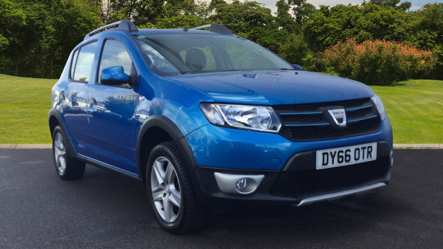 used dacia sandero stepway 1 5 dci laureate 5dr diesel hatchback for sale in scotland macklin. Black Bedroom Furniture Sets. Home Design Ideas