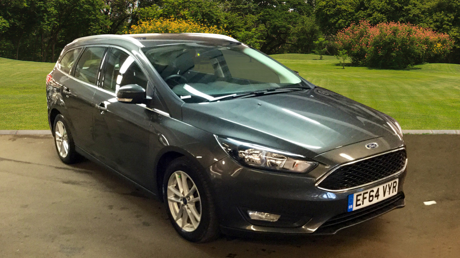 used ford focus 1 6 125 zetec 5dr powershift petrol estate for sale in scotland macklin motors. Black Bedroom Furniture Sets. Home Design Ideas