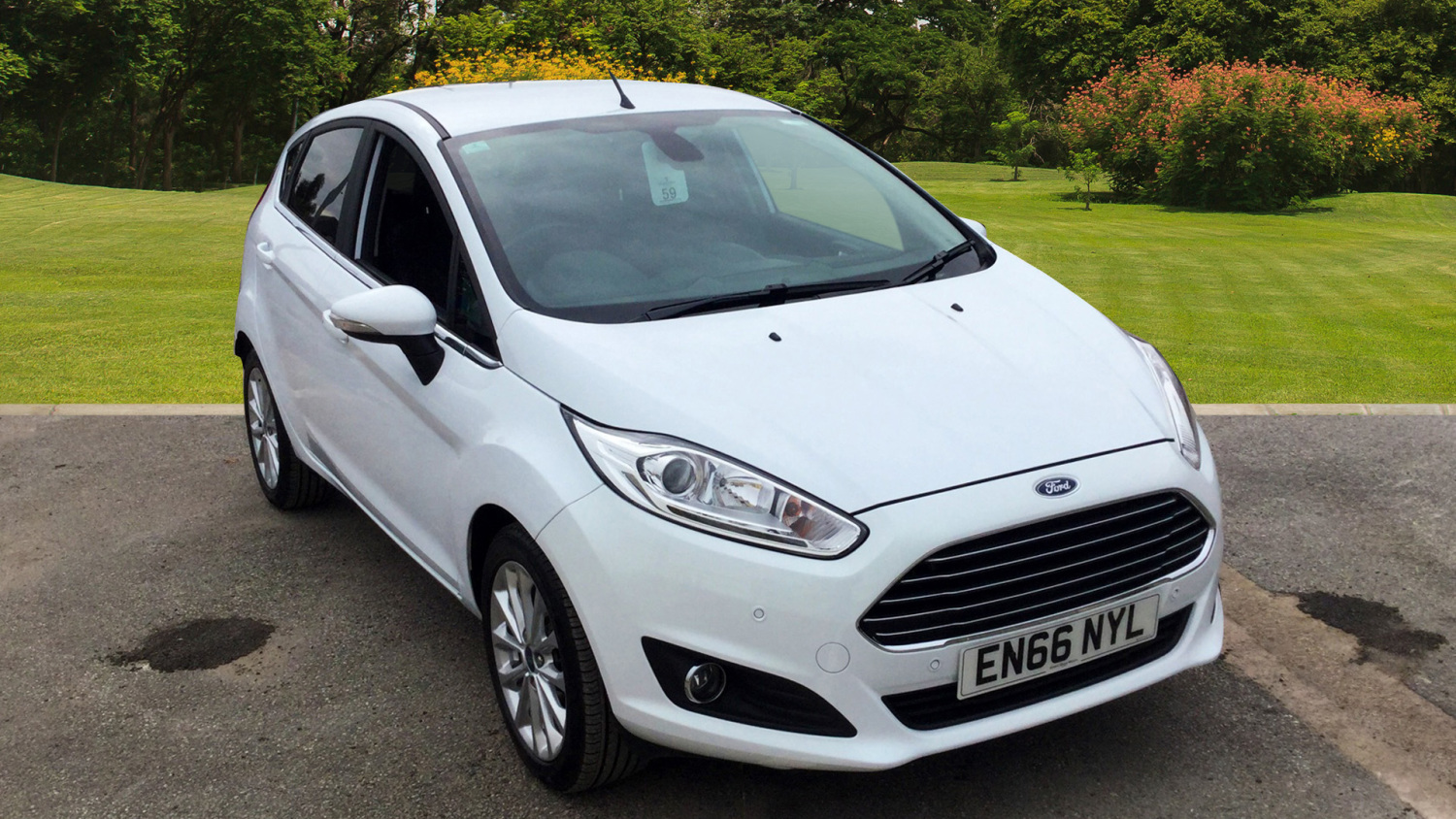 used ford fiesta 1 5 tdci titanium x 5dr diesel hatchback for sale in scotland macklin motors. Black Bedroom Furniture Sets. Home Design Ideas