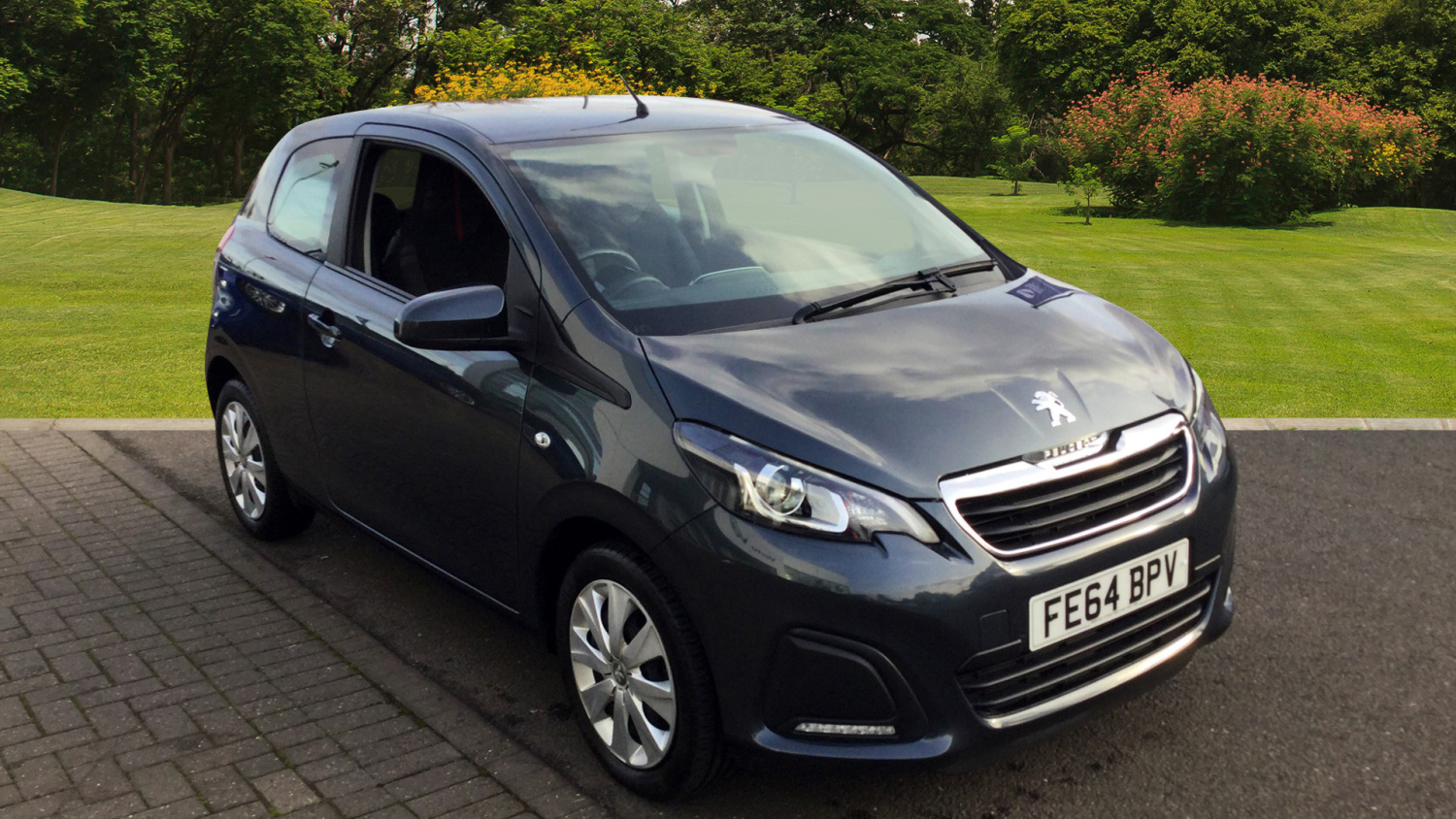 used peugeot 108 1 0 active 3dr petrol hatchback for sale in scotland macklin motors. Black Bedroom Furniture Sets. Home Design Ideas