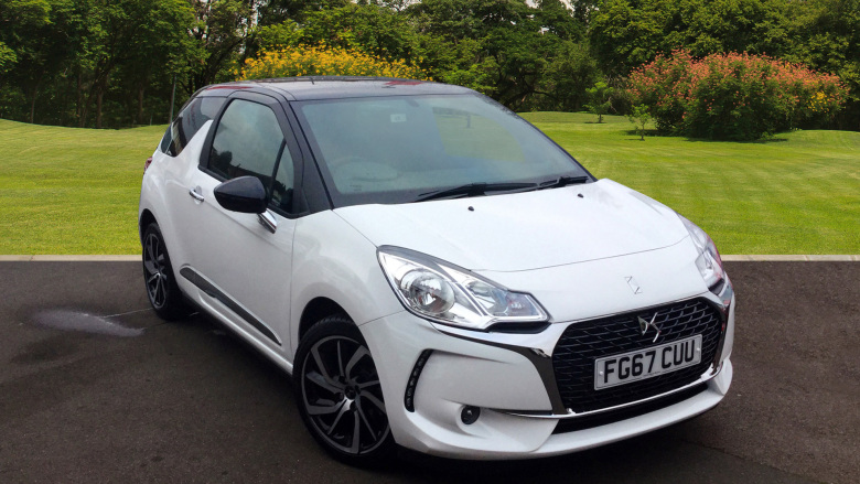 DS 3 1.2 Puretech Connected Chic 3Dr Petrol Hatchback
