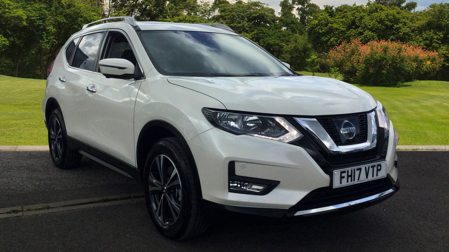 used nissan x trail 1 6 dci n connecta 5dr 4wd 7 seat diesel station wagon for sale in. Black Bedroom Furniture Sets. Home Design Ideas