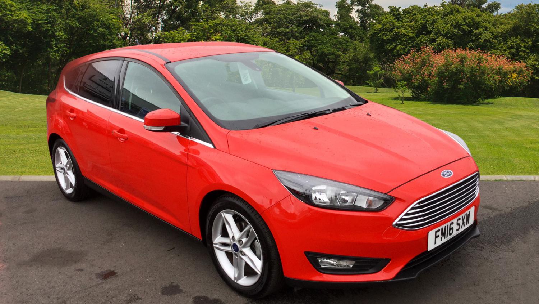 used ford focus 1 0 ecoboost 125 zetec 5dr auto petrol hatchback for sale in scotland macklin. Black Bedroom Furniture Sets. Home Design Ideas