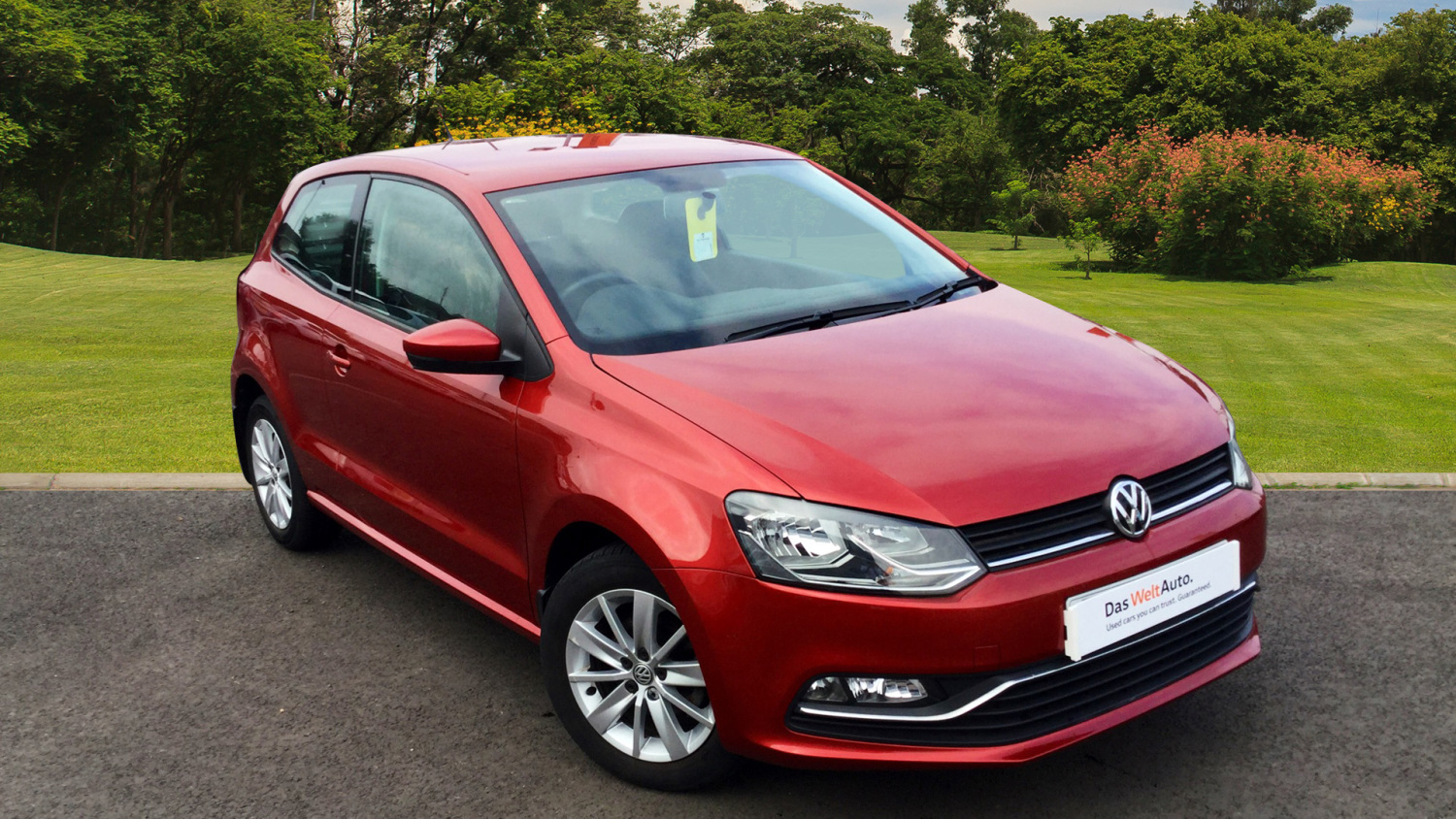 used volkswagen polo 1 2 tsi se 3dr petrol hatchback for sale in scotland macklin motors. Black Bedroom Furniture Sets. Home Design Ideas