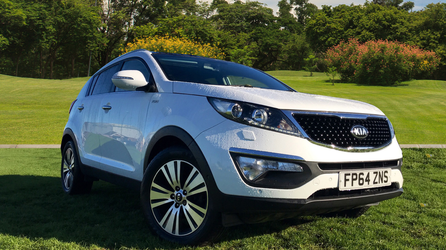 used kia sportage 2 0 crdi kx 4 5dr diesel estate for sale in scotland macklin motors. Black Bedroom Furniture Sets. Home Design Ideas
