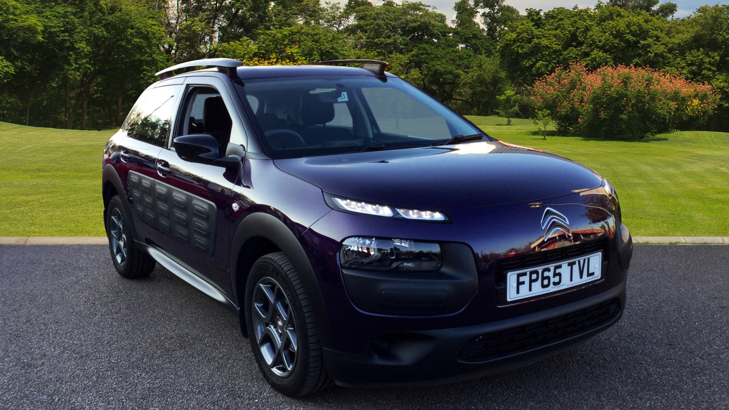 used citroen c4 cactus 1 6 bluehdi feel 5dr diesel hatchback for sale in scotland macklin motors. Black Bedroom Furniture Sets. Home Design Ideas