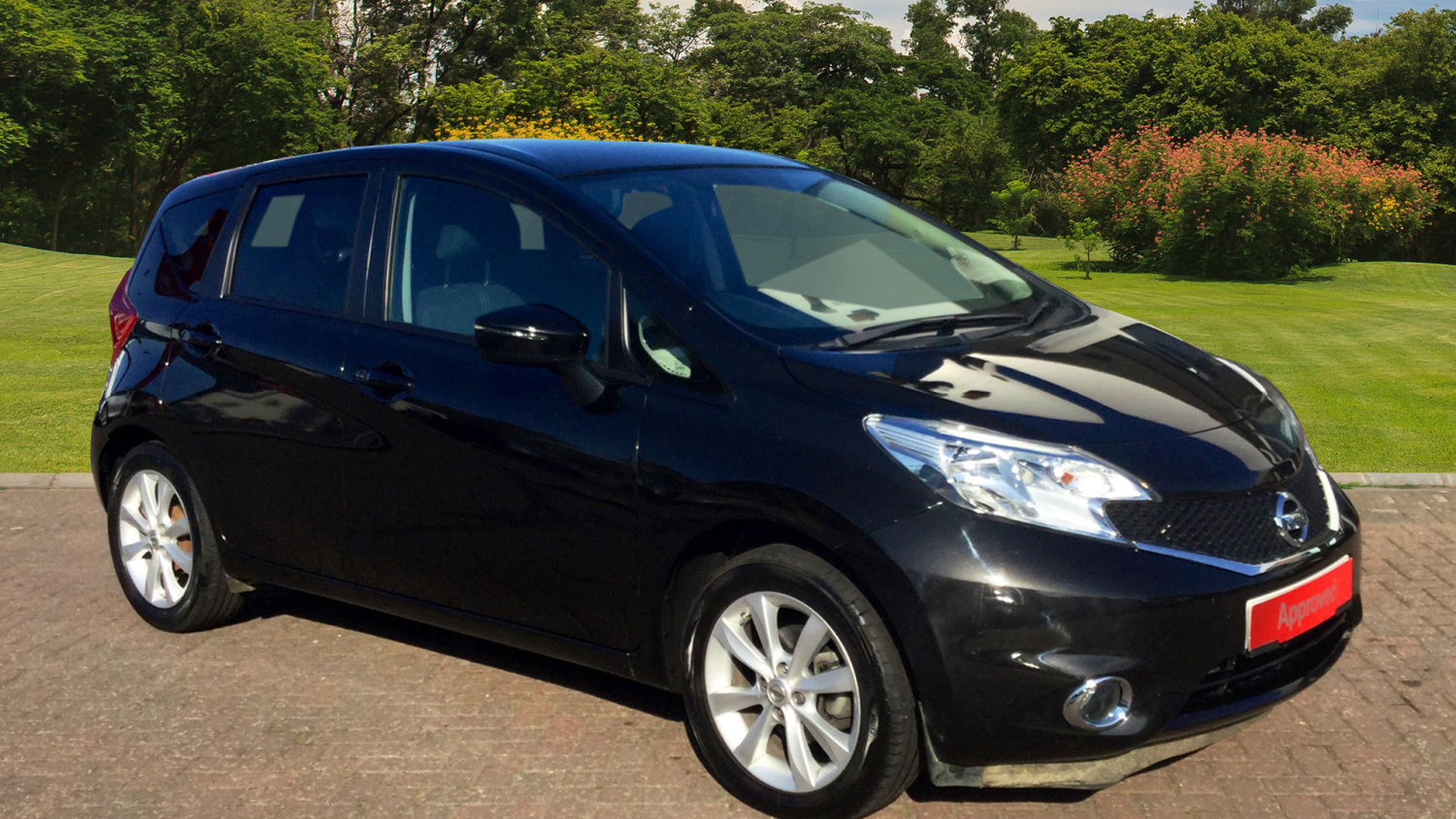 used nissan note 1 2 dig s acenta premium 5dr auto petrol hatchback for sale in scotland. Black Bedroom Furniture Sets. Home Design Ideas