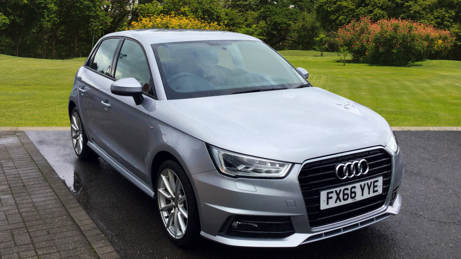 used audi a1 1 4 tfsi s line 5dr petrol hatchback for sale in scotland macklin motors. Black Bedroom Furniture Sets. Home Design Ideas