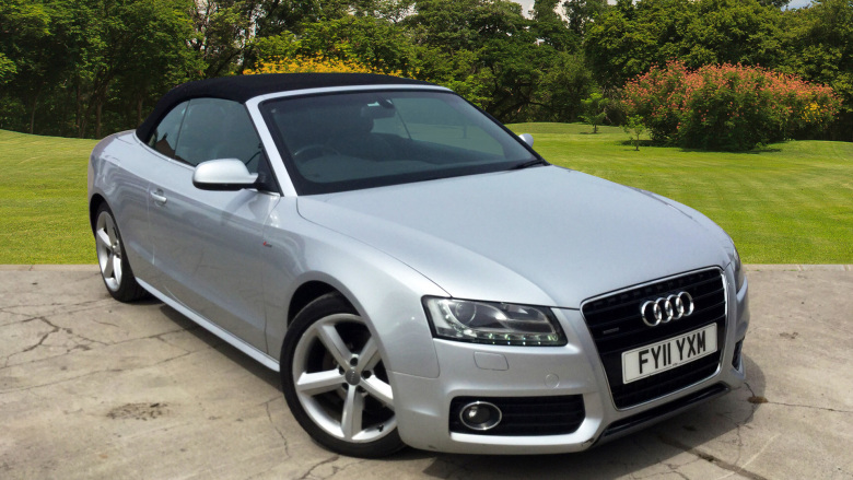 Audi A5 3.0 TDI Quattro S Line 2dr S Tronic Diesel Convertible