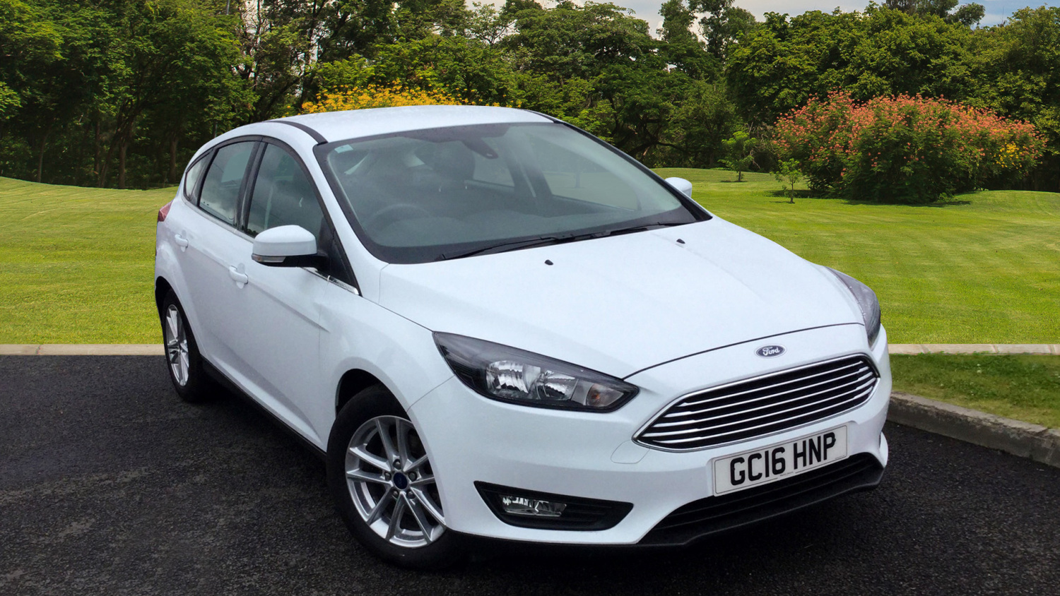 used ford focus 1 5 tdci 120 zetec 5dr diesel hatchback. Black Bedroom Furniture Sets. Home Design Ideas