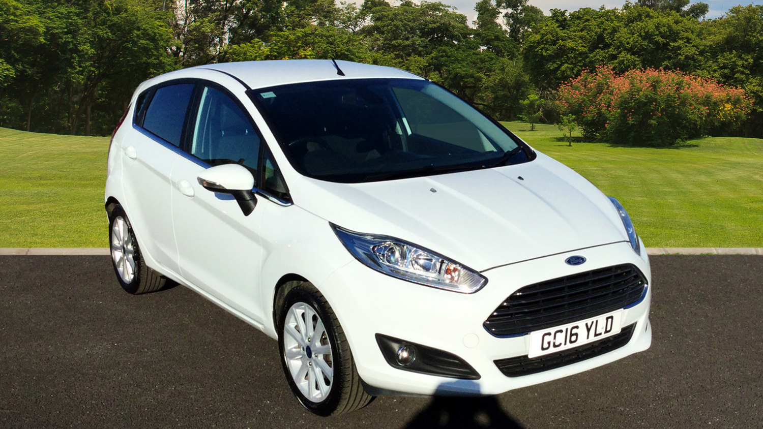used ford fiesta 1 0 ecoboost titanium 5dr petrol hatchback for sale in scotland macklin motors. Black Bedroom Furniture Sets. Home Design Ideas