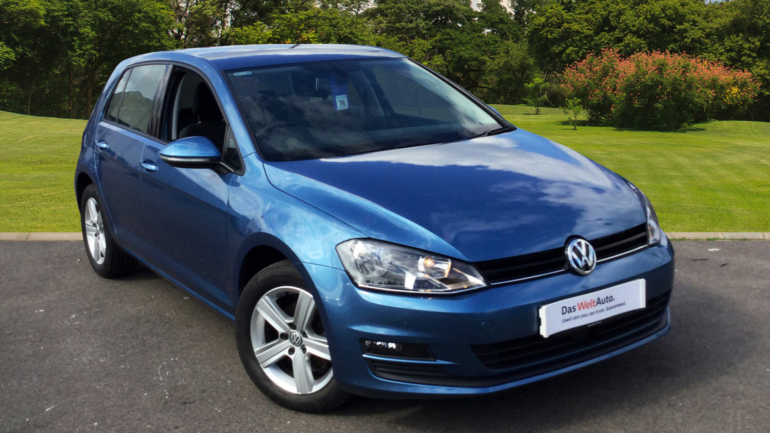 used volkswagen golf 1 6 tdi 105 match 5dr dsg diesel hatchback for sale in scotland macklin. Black Bedroom Furniture Sets. Home Design Ideas
