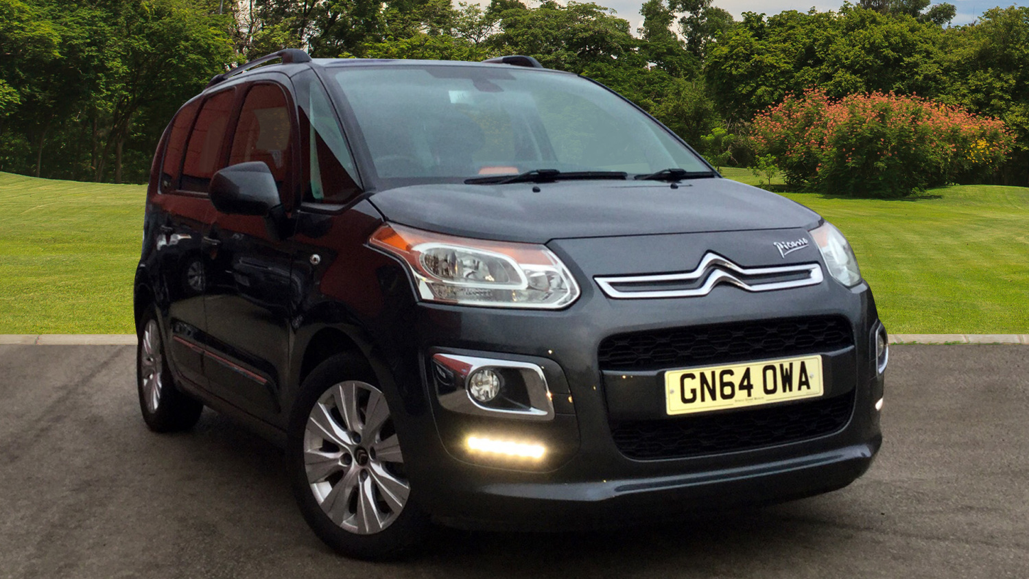used citroen c3 picasso 1 6 vti 16v exclusive 5dr egs6. Black Bedroom Furniture Sets. Home Design Ideas
