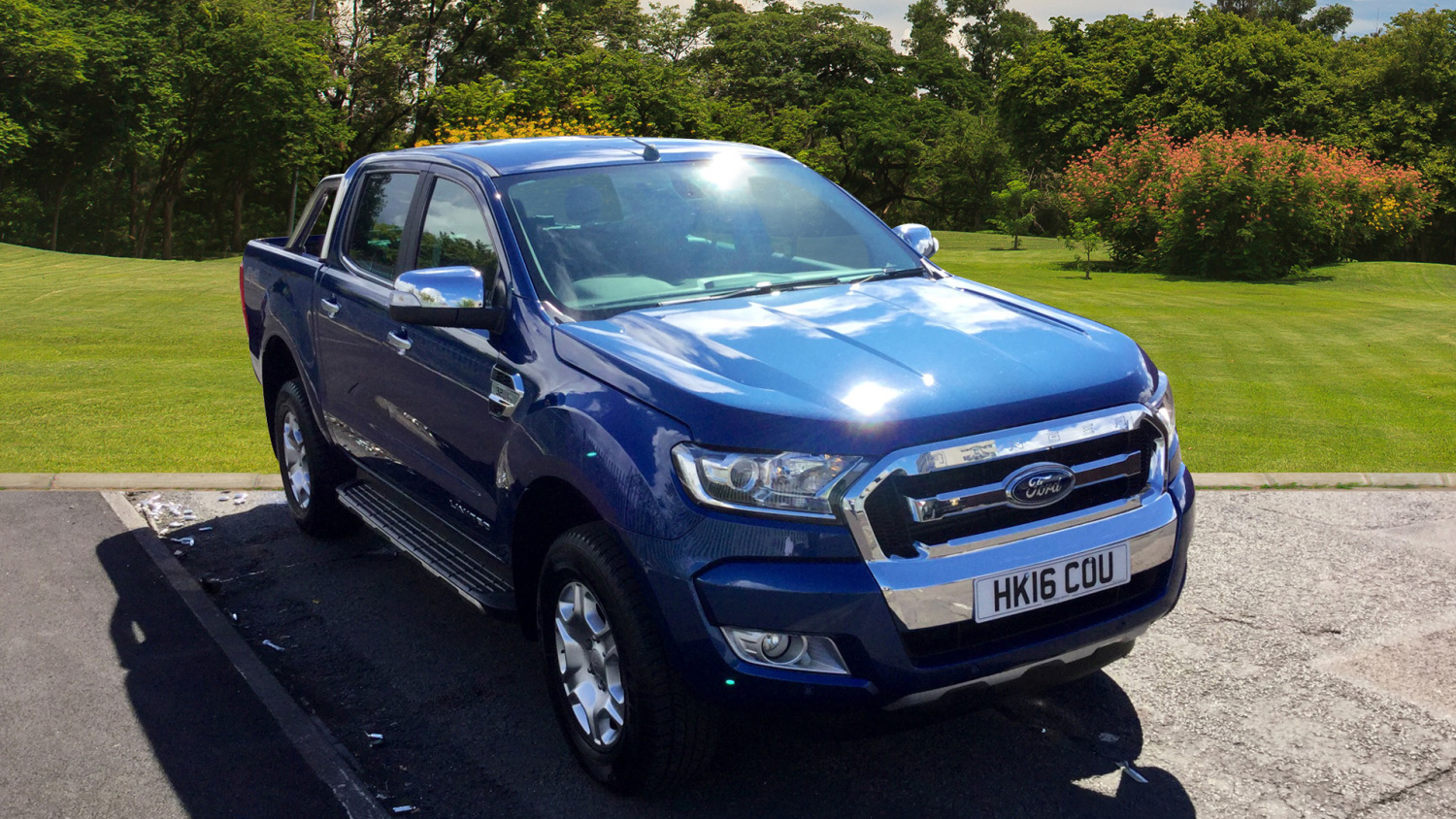 used ford ranger diesel pick up double cab limited 2 3 2 tdci 200 for sale in scotland macklin. Black Bedroom Furniture Sets. Home Design Ideas