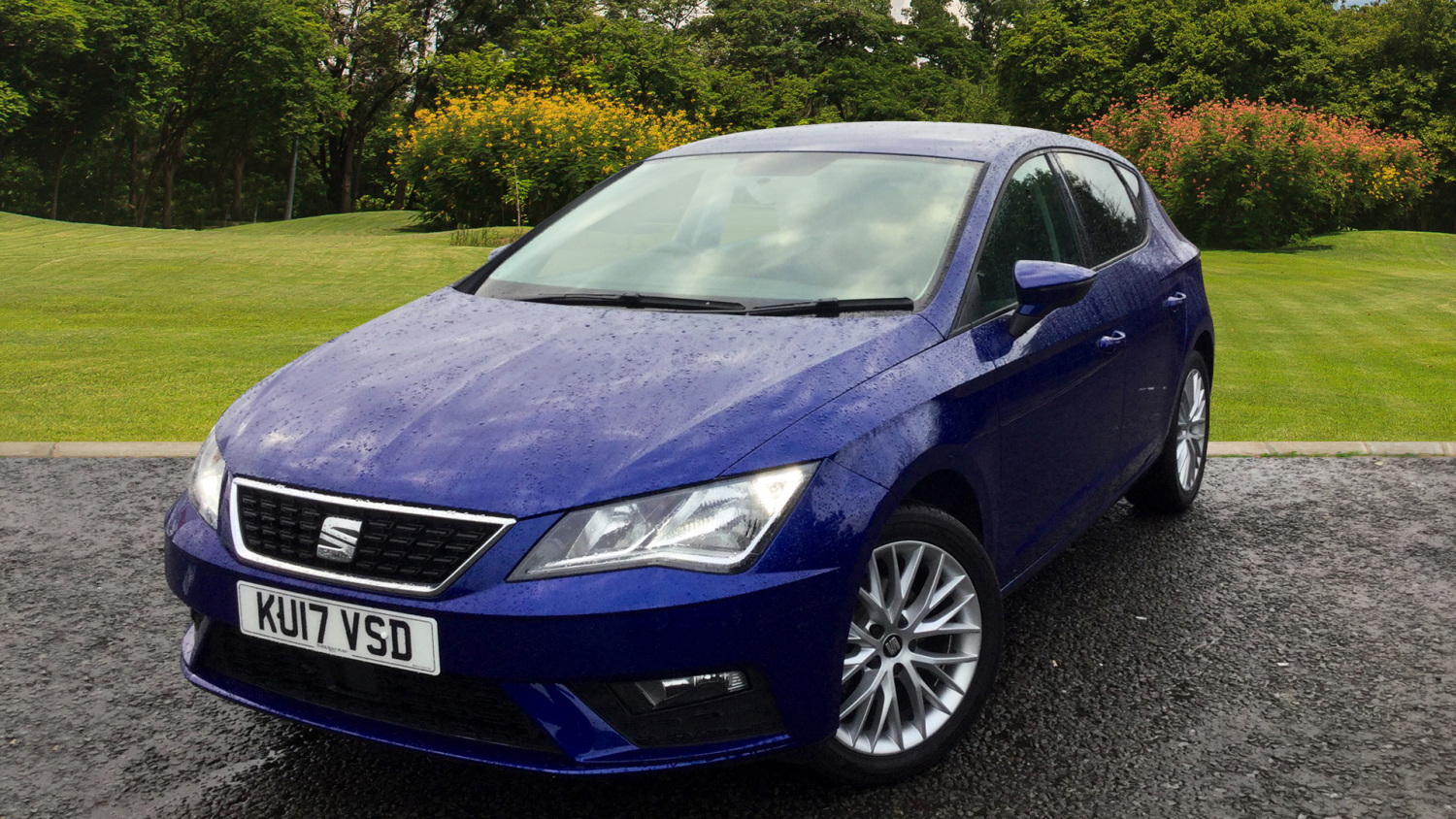 used seat leon 1 2 tsi se dynamic technology 5dr petrol hatchback for sale in scotland macklin. Black Bedroom Furniture Sets. Home Design Ideas