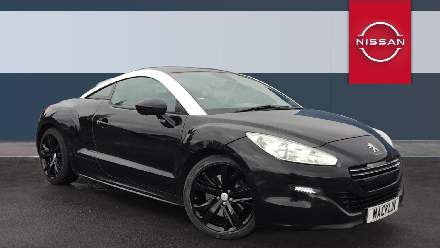 used peugeot rcz 2 0 hdi gt 2dr diesel coupe for sale in. Black Bedroom Furniture Sets. Home Design Ideas