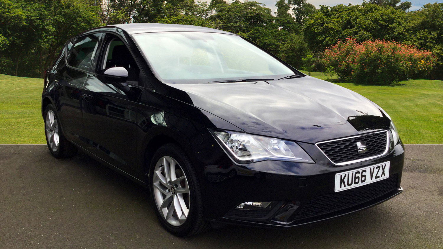 used seat leon 1 2 tsi 110 se 5dr petrol hatchback for sale in scotland macklin motors. Black Bedroom Furniture Sets. Home Design Ideas