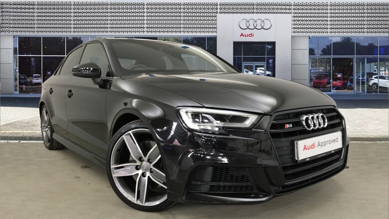 Audi A3 S3 Tfsi Quattro Black Edition 4Dr S Tronic Petrol Saloon