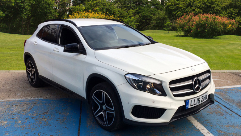 Mercedes-Benz GLA Gla 220D 4Matic Amg Line 5Dr Auto [executive] Diesel Hatchback