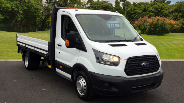 used ford transit chassis cab transit 350 l3 diesel rwd 2 0 tdci 130ps chassis cab for sale in. Black Bedroom Furniture Sets. Home Design Ideas