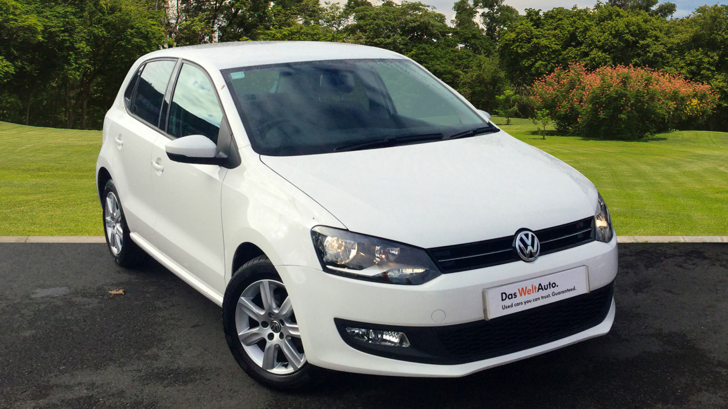 Used Volkswagen Polo 1 2 60 Match Edition 5dr Petrol