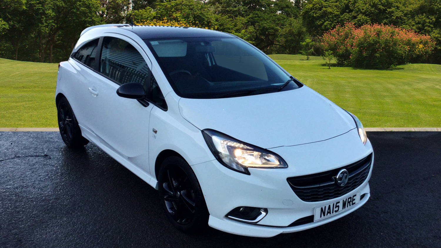 used vauxhall corsa 1 4 limited edition 3dr petrol. Black Bedroom Furniture Sets. Home Design Ideas