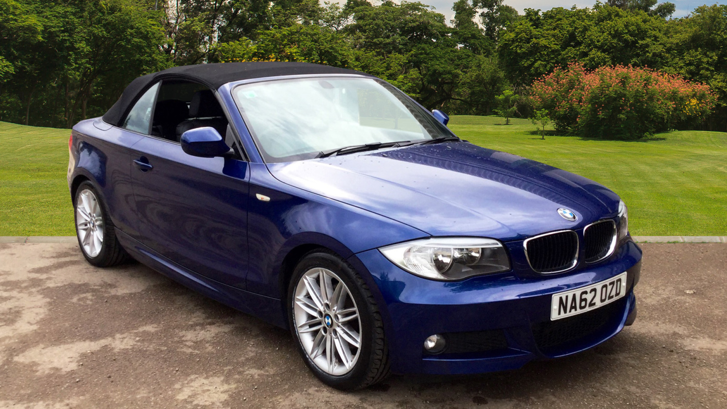 used bmw 1 series 120d m sport 2dr diesel convertible for sale in scotland macklin motors. Black Bedroom Furniture Sets. Home Design Ideas