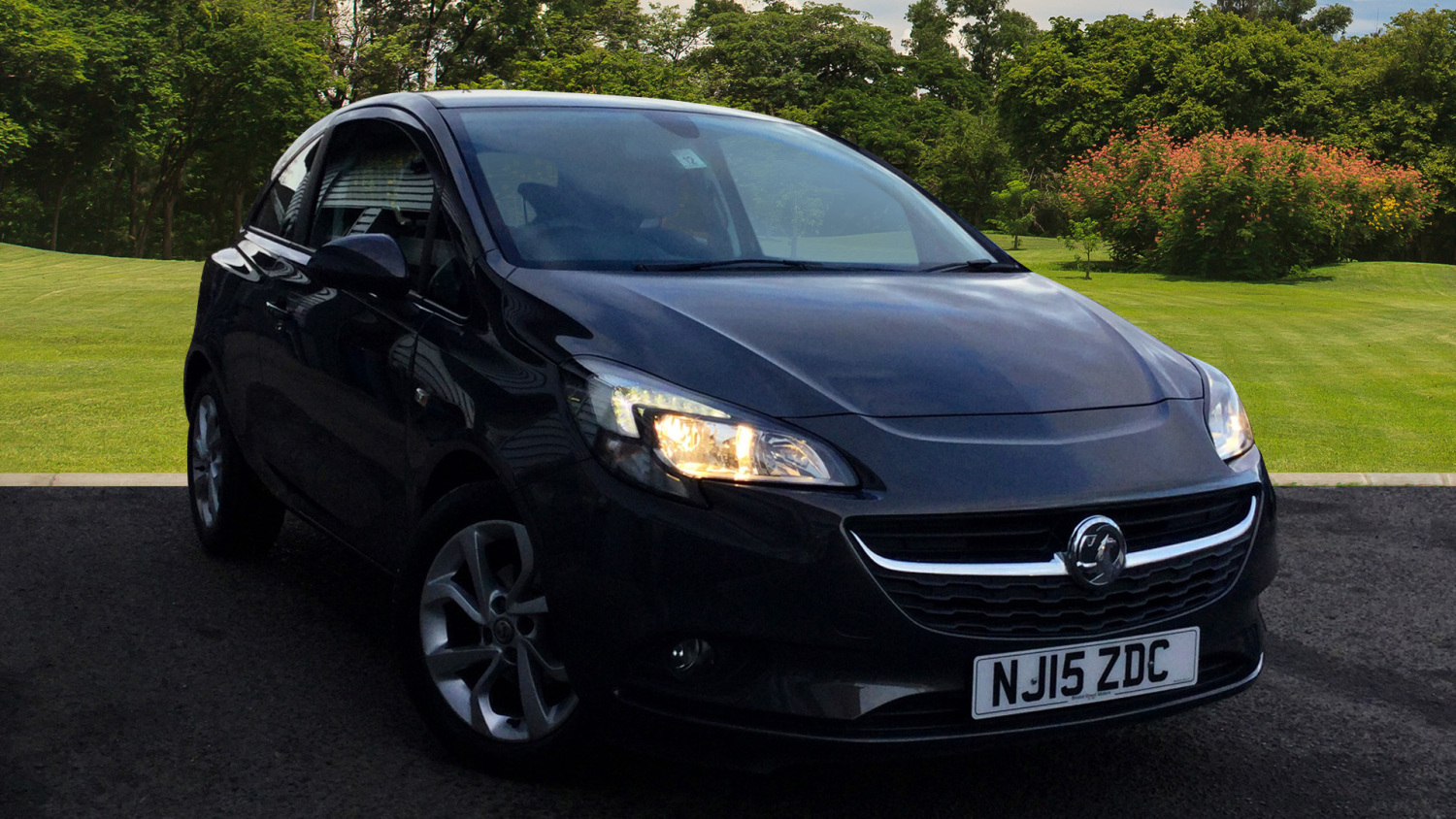 used vauxhall corsa 1 2 excite 3dr ac petrol hatchback. Black Bedroom Furniture Sets. Home Design Ideas