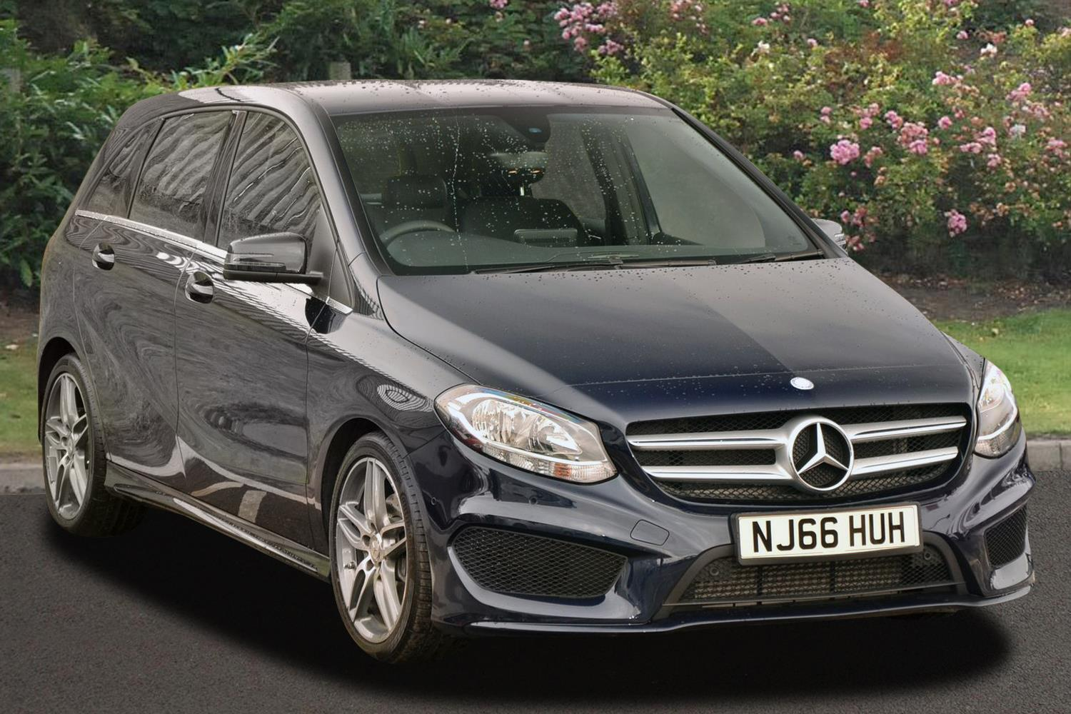 Used mercedes benz b class b180d amg line executive 5dr for How do you spell mercedes benz