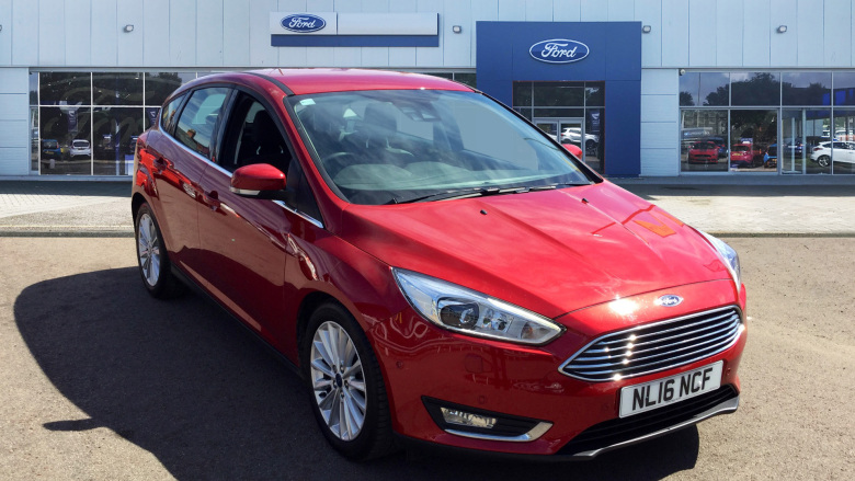 Ford Focus 1.5 TDCi 120 Titanium X 5dr Powershift Diesel Hatchback