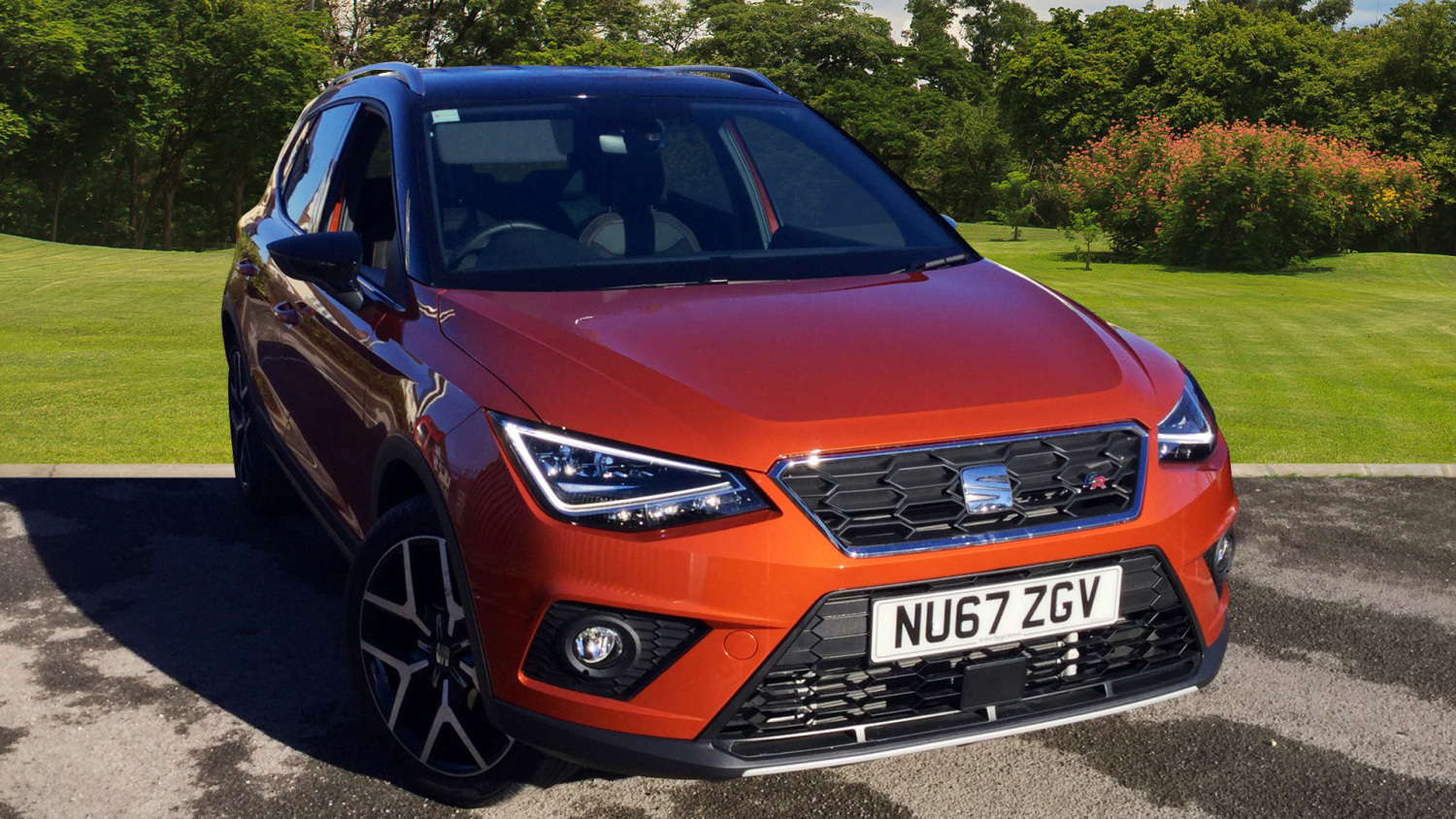 used seat arona 1 0 tsi 115 fr sport 5dr petrol hatchback for sale in scotland macklin motors. Black Bedroom Furniture Sets. Home Design Ideas