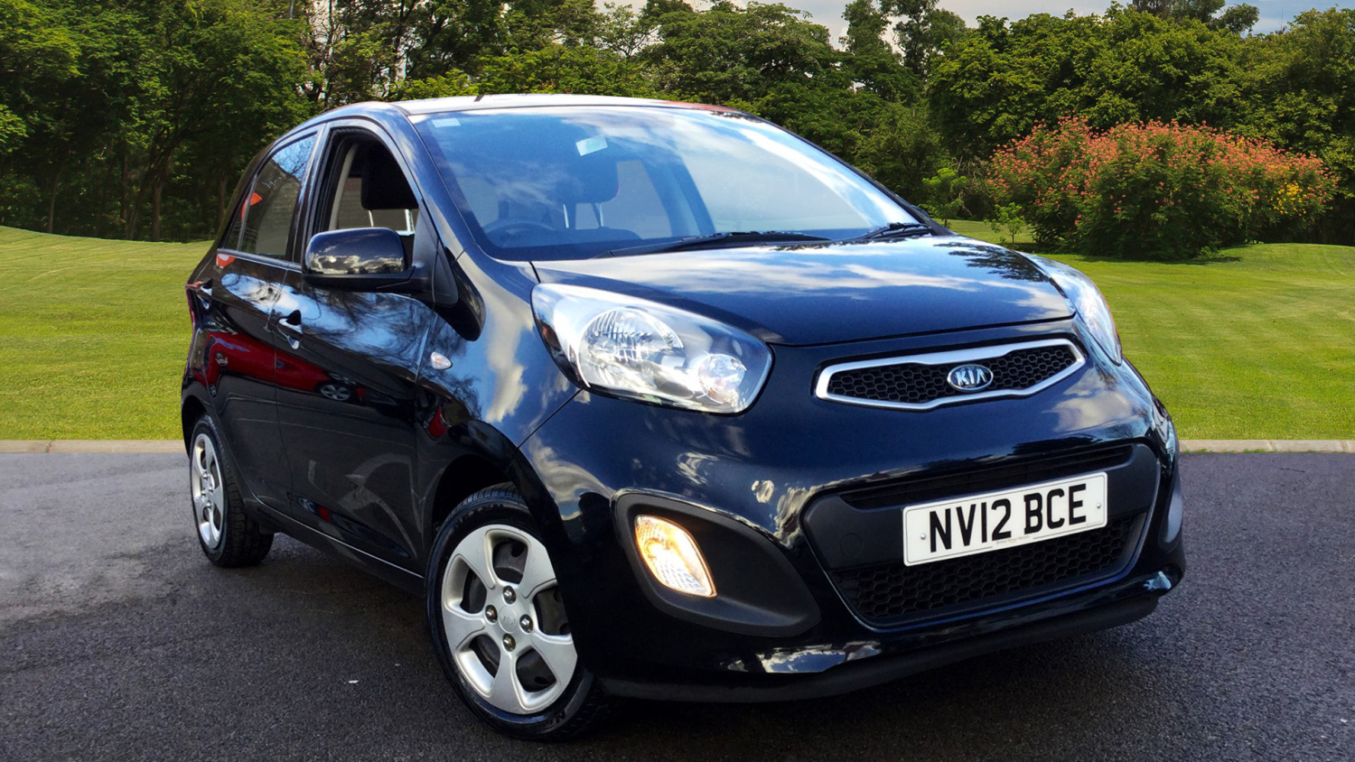 Used kia picanto 1 0 1 5dr petrol hatchback for sale in for Kia motors mission statement