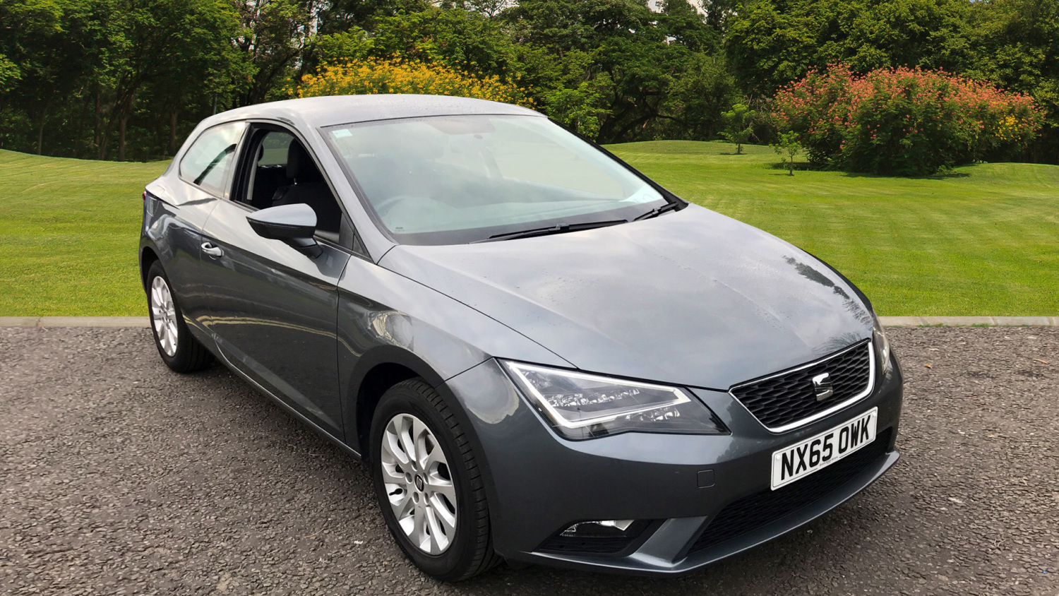 used seat leon 1 6 tdi se 3dr technology pack diesel hatchback for sale in scotland macklin. Black Bedroom Furniture Sets. Home Design Ideas