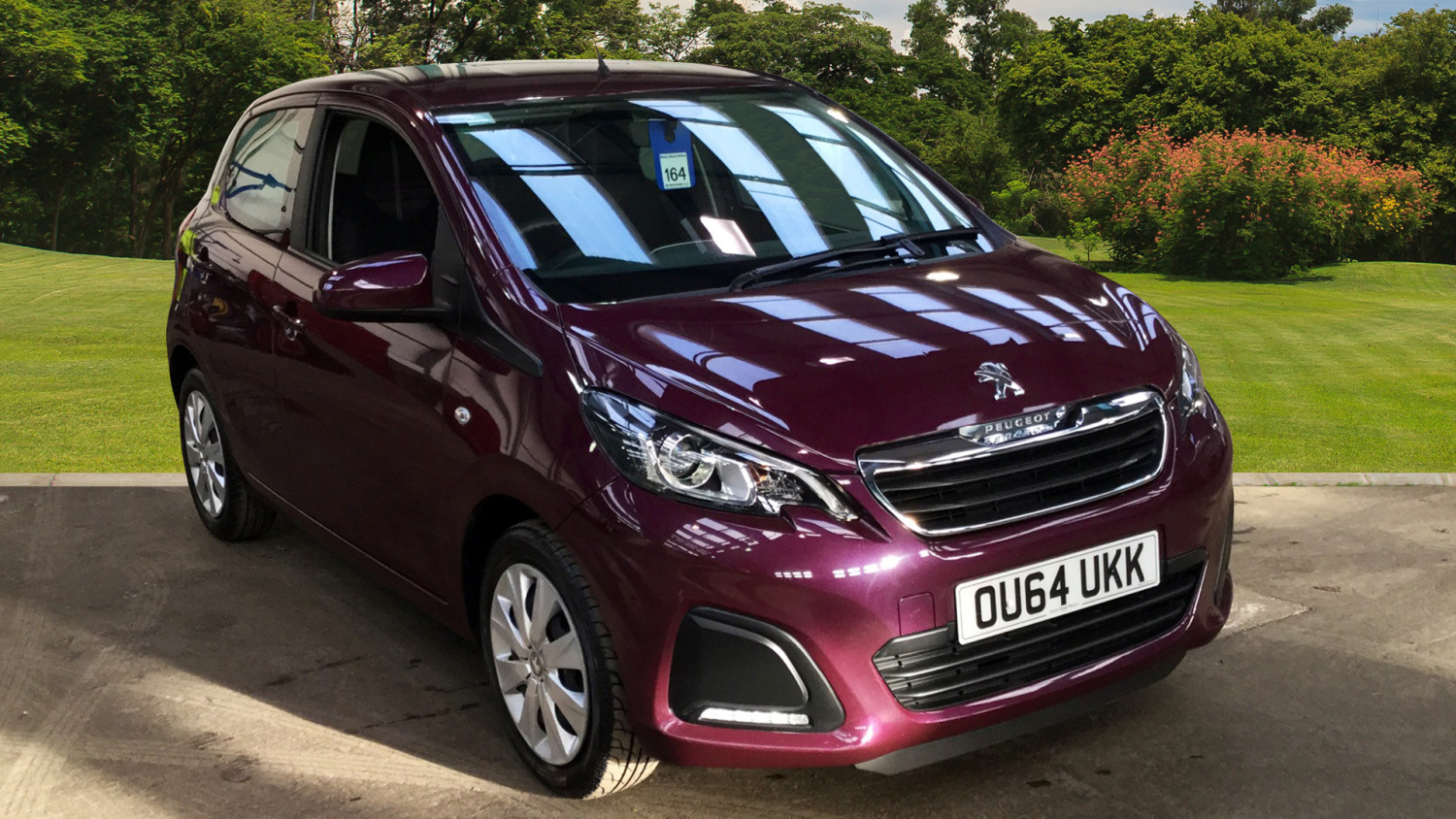 used peugeot 108 1 0 active 5dr petrol hatchback for sale in scotland macklin motors. Black Bedroom Furniture Sets. Home Design Ideas