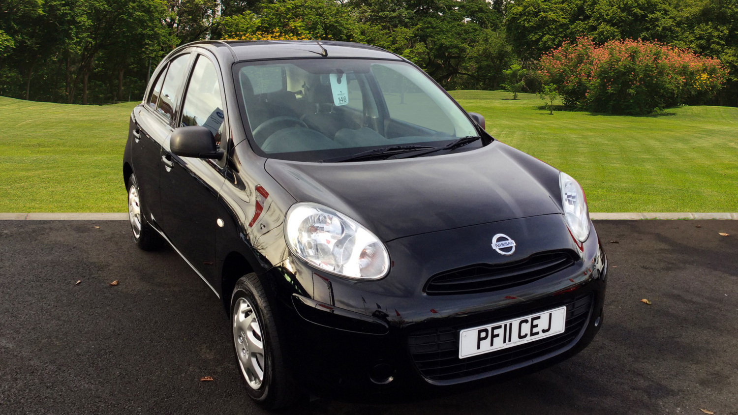 used nissan micra 1 2 visia 5dr petrol hatchback for sale in scotland macklin motors. Black Bedroom Furniture Sets. Home Design Ideas