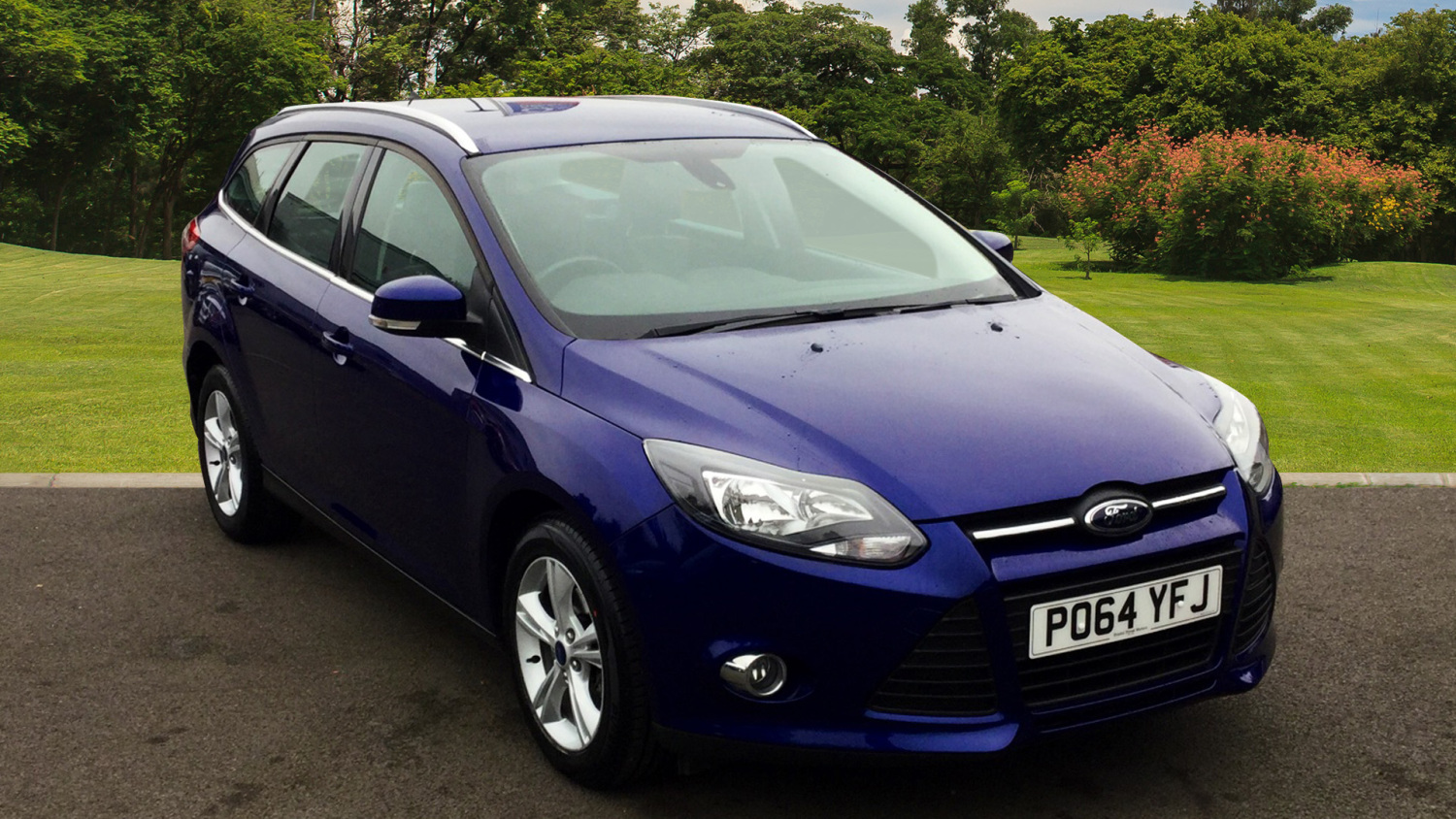 used ford focus 1 6 tdci 115 zetec 5dr diesel estate for. Black Bedroom Furniture Sets. Home Design Ideas