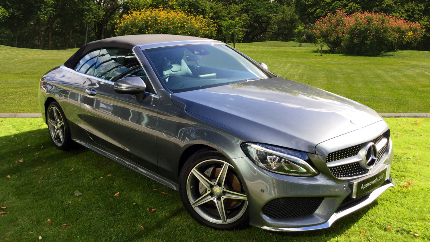 Used mercedes benz c class c220d amg line 2dr diesel coupe for Mercedes benz c class coupe used