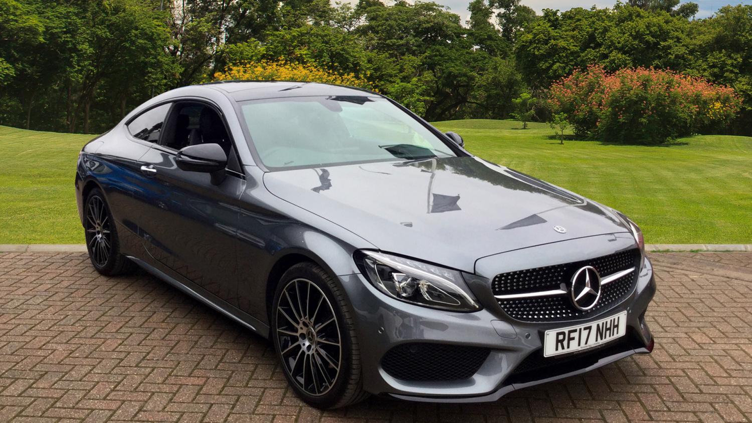 Used mercedes benz c class c220d amg line premium 2dr auto diesel coupe for sale in scotland - Mercedes c class coupe diesel ...