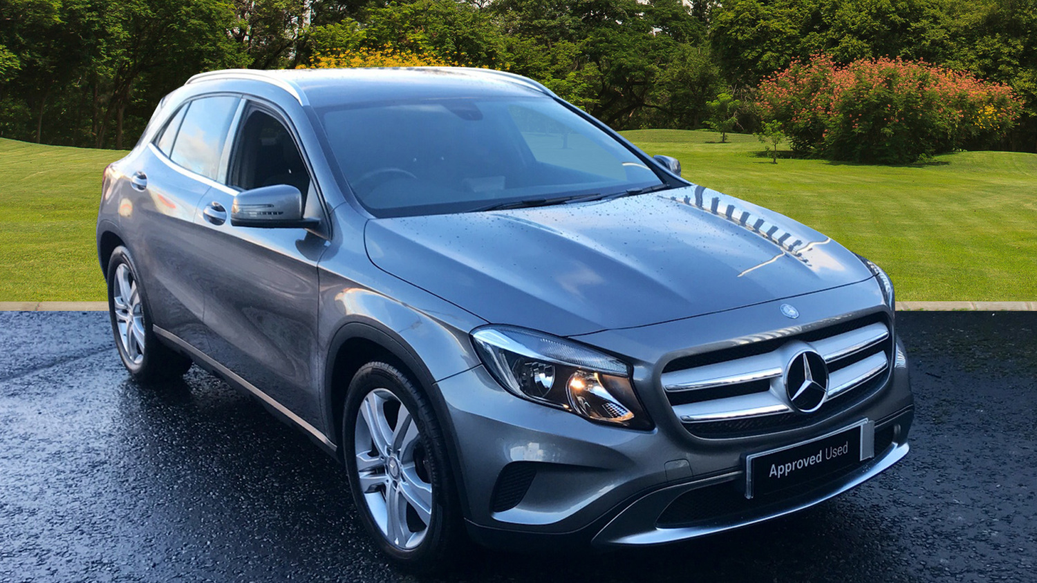 used mercedes benz gla gla 220 cdi 4matic se 5dr auto diesel hatchback for sale in scotland. Black Bedroom Furniture Sets. Home Design Ideas