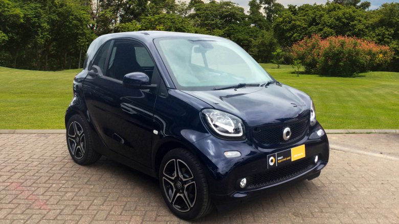 smart fortwo coupe 0.9 Turbo Edition Blue 2dr Auto Petrol Coupe