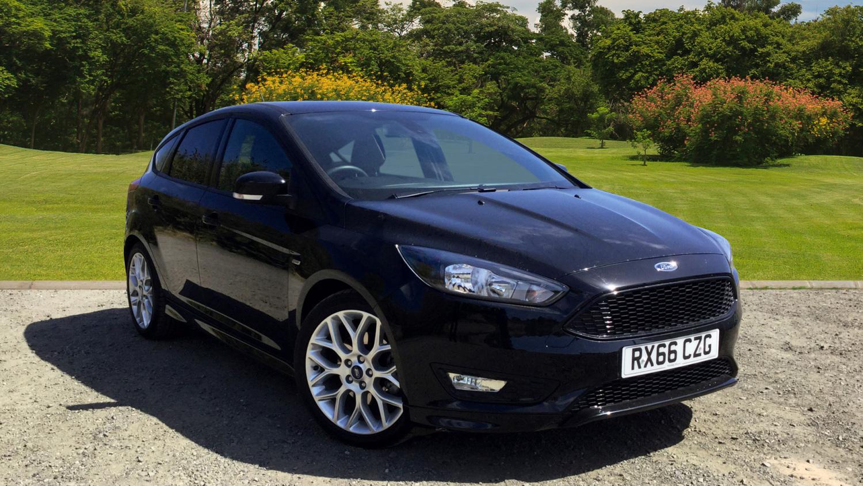 used ford focus 1 5 ecoboost st line 5dr petrol hatchback. Black Bedroom Furniture Sets. Home Design Ideas