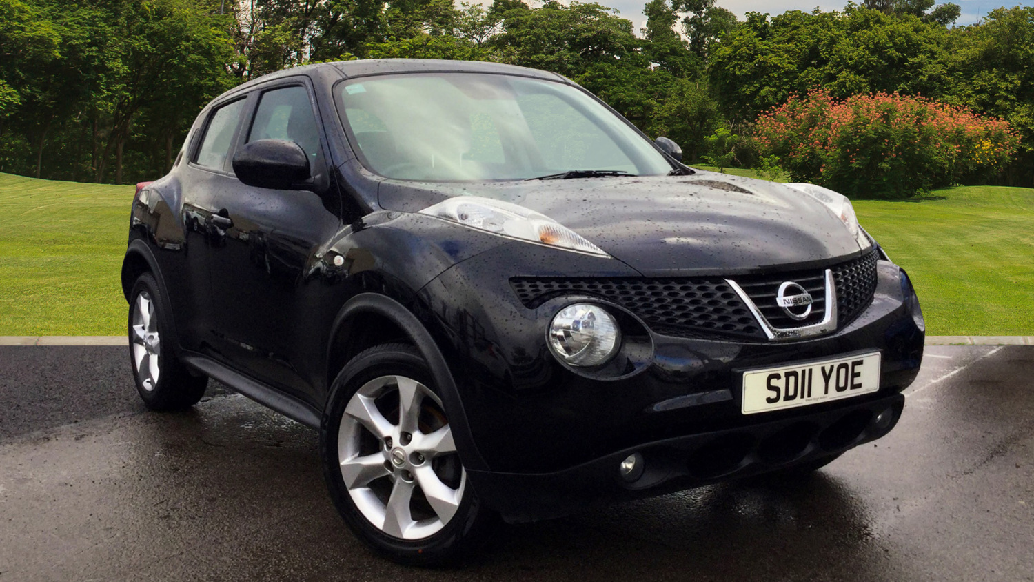 used nissan juke 1 6 acenta 5dr petrol hatchback for sale. Black Bedroom Furniture Sets. Home Design Ideas